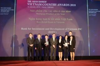 Năm thứ 4 BIDV là ngân hàng bán lẻ tốt nhất Việt Nam