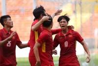 U23 Việt Nam lần đầu vào bán kết giải châu Á