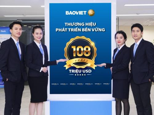 Giá trị vốn hóa của Tập đoàn Bảo Việt đạt 2,5 tỷ USD