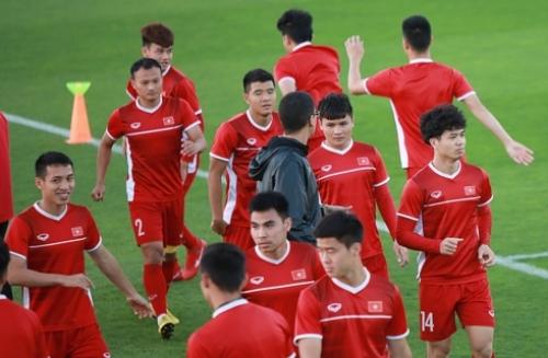 Đội tuyển Việt Nam nhận tin vui trước thềm Asian Cup 2019