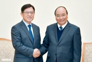 Thủ tướng: Chính phủ hết sức quan tâm các dự án đầu tư của Samsung