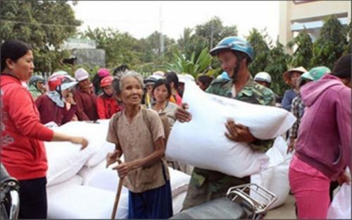 Xuất cấp gạo cho 6 tỉnh dịp Tết Kỷ Hợi