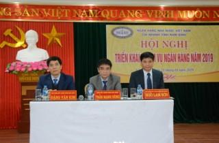 Nam Định triển khai nhiệm vụ ngân hàng năm 2019