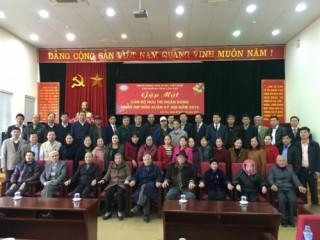 Lào Cai: Gặp mặt truyền thống cán bộ ngân hàng qua các thời kỳ