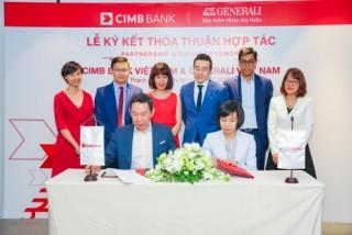 Generali Việt Nam hợp tác với CIMB phát huy thế mạnh về công nghệ số