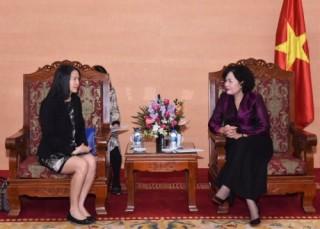 Phó Thống đốc Nguyễn Thị Hồng tiếp Giám đốc Điều hành Nhóm các nước Đông Nam Á của WB