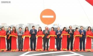 Thông xe đường nối cao tốc Hà Nội - Hải Phòng và cao tốc Cầu Giẽ - Ninh Bình