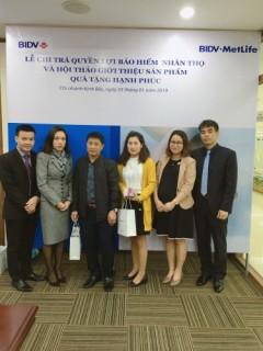 BIDV MetLife chi trả quyền lợi bảo hiểm tại Bắc Ninh