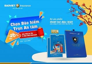 """Bảo hiểm Bảo Việt khuyến mãi lớn qua chương trình """"Chọn bảo hiểm - Trọn an tâm"""""""