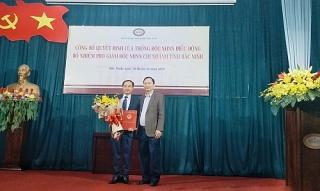 NHNN Chi nhánh Bắc Ninh có Phó Giám đốc mới