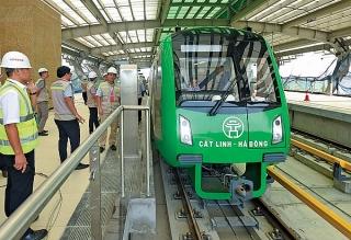 Khẩn trương đưa đường sắt Cát Linh - Hà Đông vào khai thác