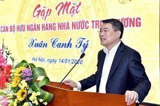 Thống đốc Lê Minh Hưng gặp mặt các cán bộ hưu trí Ngân hàng Nhà nước Trung ương