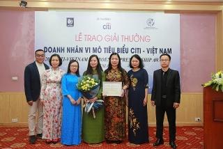 TYM nhận giải thưởng Tổ chức tài chính vi mô tiêu biểu Citi