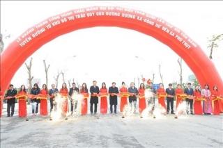 Hà Nội khởi công, khánh thành các công trình chào mừng Đại hội Đảng lần thứ XIII
