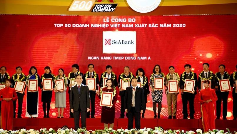 seabank duoc xep hang top 50 doanh nghiep tu nhan lon nhat viet nam