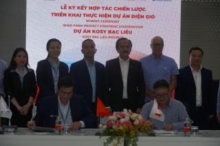 Cảng Quốc tế Long An và Đặng Gia Corp ký kết triển khai dự án điện gió