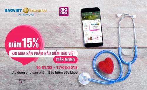 Bảo hiểm Bảo Việt sẽ bán trực tuyến sản phẩn trên ứng dụng ví MoMo