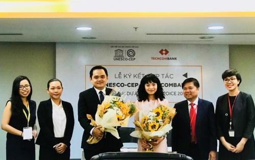 UNESCO-CEP và Techcombank hợp tác phát triển nhân tài Việt