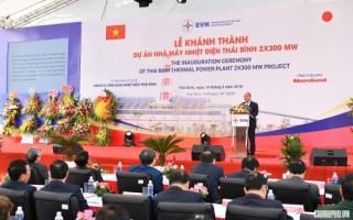 Thủ tướng dự lễ khởi công, khánh thành một số dự án lớn tại Thái Bình