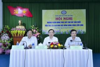 Ngân hàng triển khai nhiều giải pháp thiết thực hỗ trợ sản xuất, tiêu thụ lúa gạo