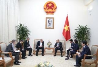 Thủ tướng mong muốn HSBC phát triển thêm các lĩnh vực kinh doanh ở Việt Nam