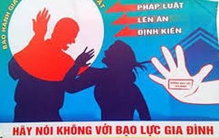 Đẩy mạnh công tác phòng, chống bạo lực gia đình