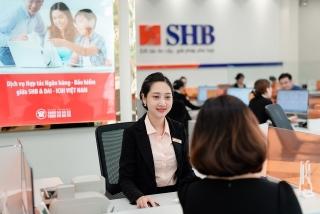 SHB đạt hơn 3.000 tỷ đồng lợi nhuận trước thuế, nợ xấu giảm mạnh về mức 1,8%