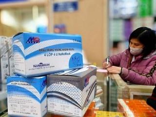 Miễn thuế nhập khẩu với khẩu trang y tế, nước khử trùng