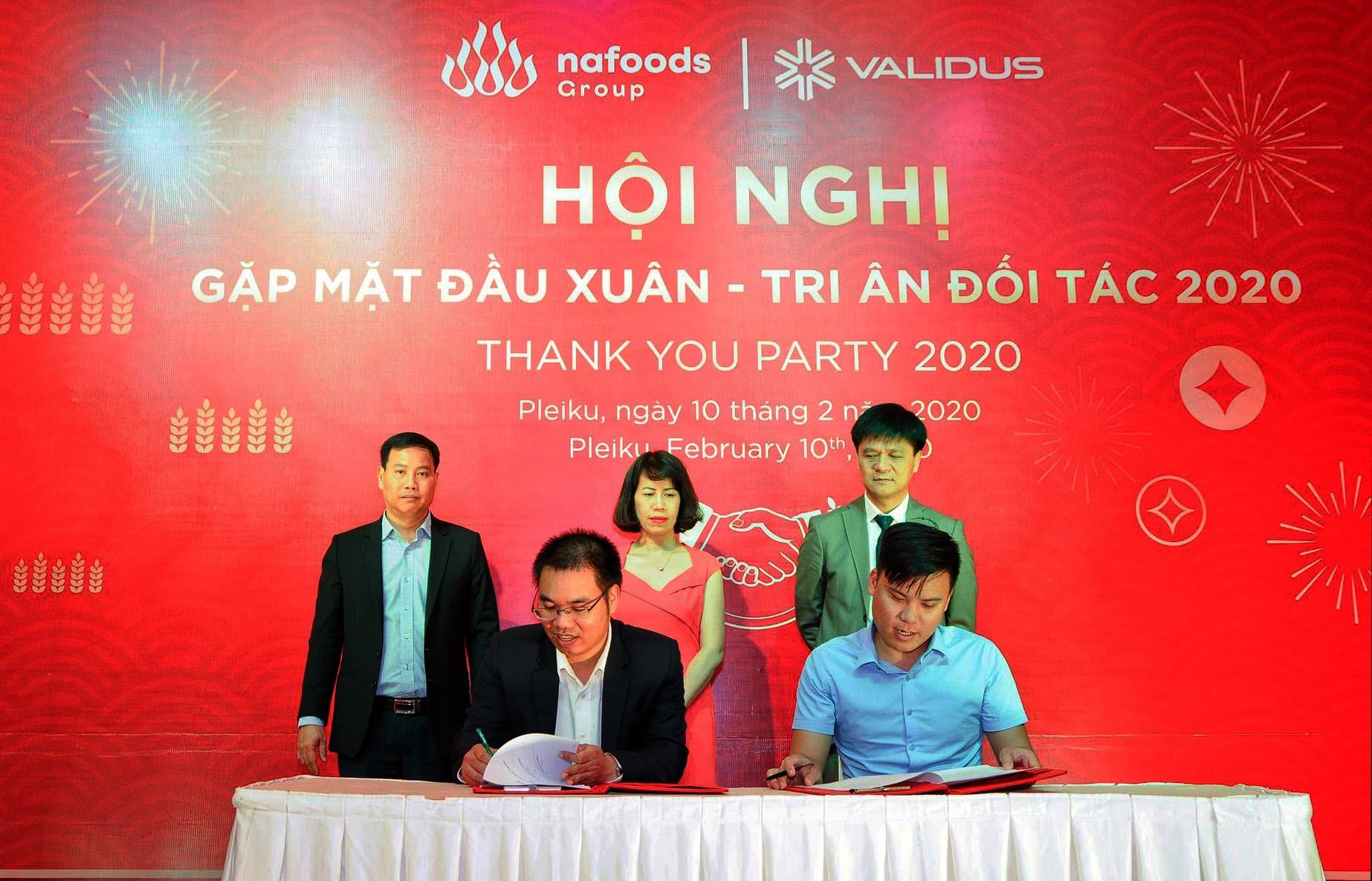 validus viet nam hop tac voi nafoods group de thuc day ho tro tai chinh cho nganh nong nghiep