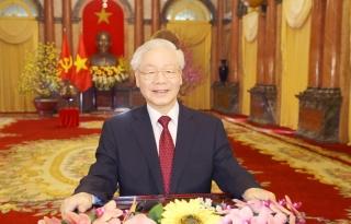 Lời chúc Tết Tân Sửu của Tổng Bí thư, Chủ tịch nước Nguyễn Phú Trọng