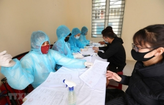 Ngày 20/2, Việt Nam ghi nhận thêm 6 ca mắc COVID-19 mới ở Hải Dương