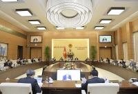 Ủy ban Thường vụ Quốc hội cho ý kiến về báo cáo công tác nhiệm kỳ của Chính phủ