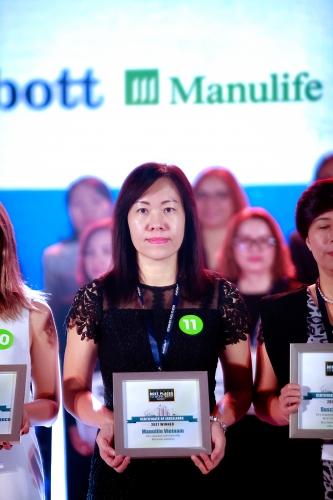 Manulife Việt Nam là nơi làm việc tốt nhất ngành bảo hiểm