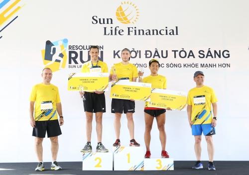 """Giải chạy bộ """"Sun Life Việt Nam' đã thu hút 6000 vận động viên"""