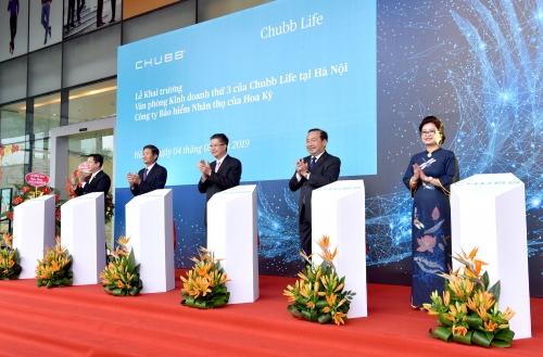 Chubb Life Việt Nam khai trương thêm văn phòng kinh doanh tại Hà Nội