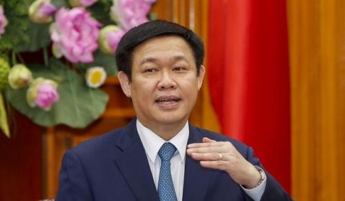 Phó Thủ tướng Vương Đình Huệ trực tiếp chỉ đạo Ủy ban quản lý vốn nhà nước