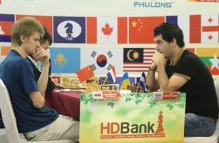 Giải Cờ vua Quốc tế HDBank: Nhiều bất ngờ trong ván đấu thứ 7