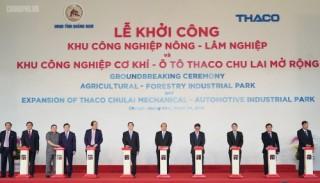 Khởi công các dự án đầu tư tại Khu kinh tế mở Chu Lai