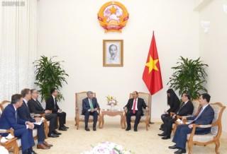 Thủ tướng đề nghị VISA tiếp tục hỗ trợ Việt Nam phát triển thanh toán điện tử