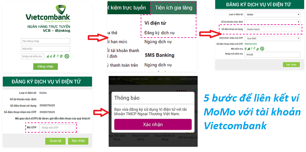 """Liên kết tài khoản ngân hàng với ví điện tử: Thanh toán an toàn """"mùa"""" dịch"""