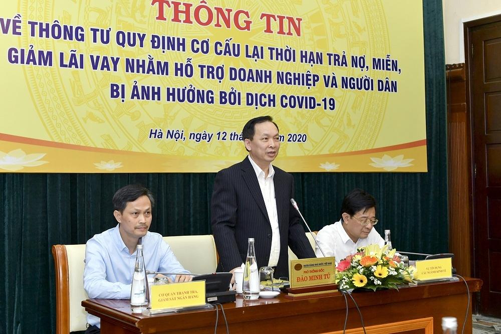 ngan hang nha nuoc chinh thuc ban hanh thong tu ho tro khach vay truoc dich covid 19