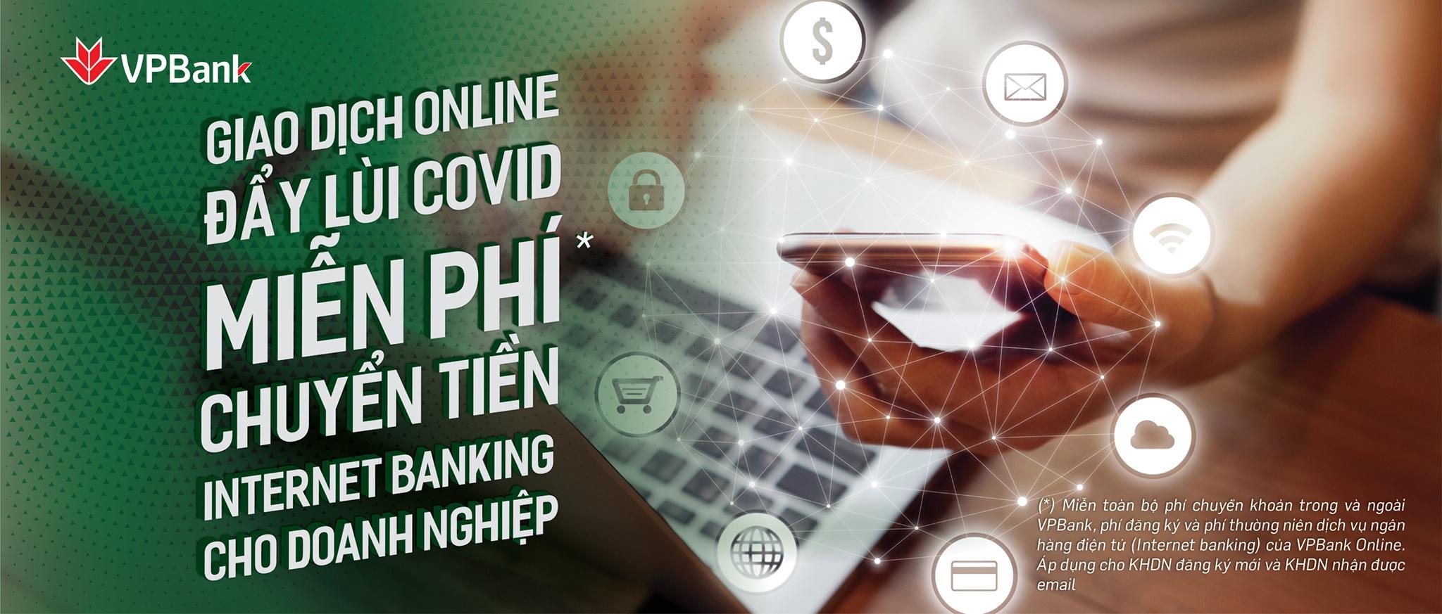 vpbank online mien hoan toan 3 loai phi cho khach hang doanh nghiep moi