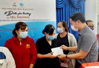 PNJ hỗ trợ phụ nữ gặp khó khăn do đại dịch