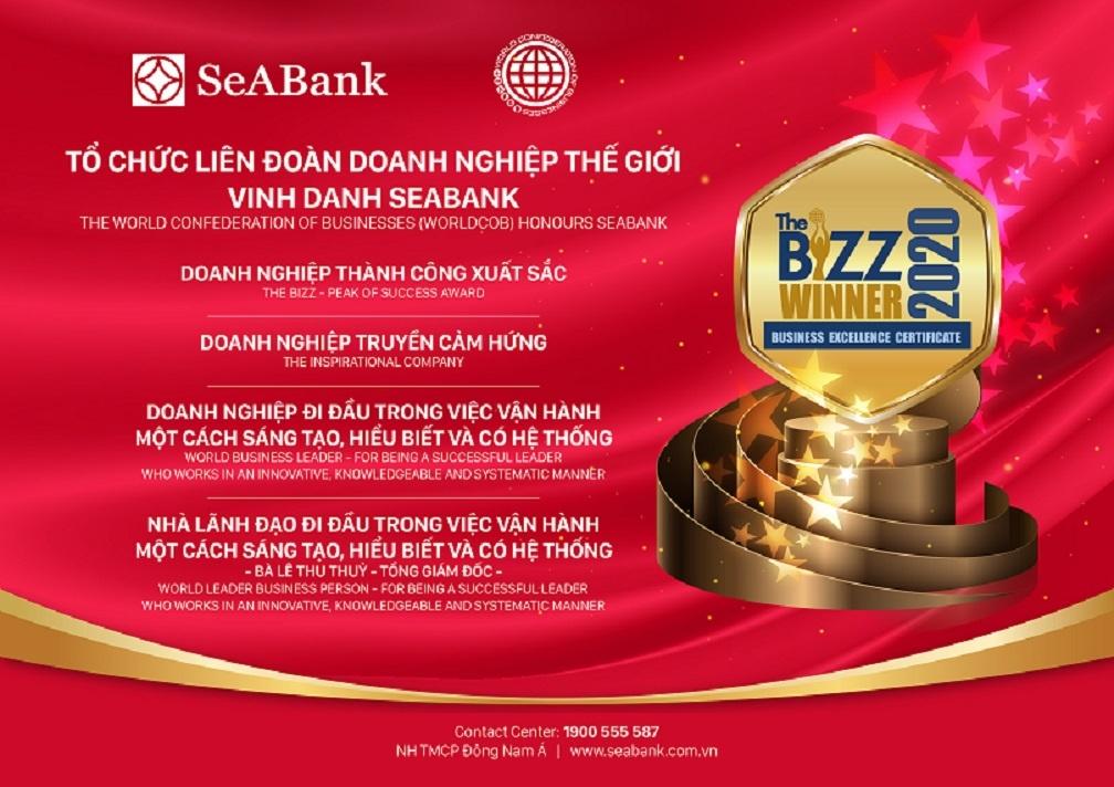 worldcob trao tang seabank 4 giai thuong danh gia