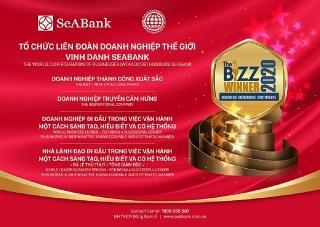 Worldcob trao tặng SeABank 4 giải thưởng danh giá