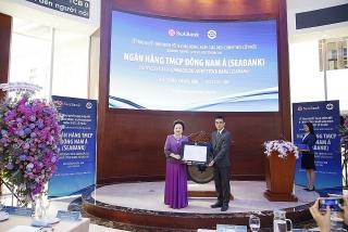 Hơn 1,2 tỷ cổ phiếu SeABank chính thức giao dịch trên sàn chứng khoán