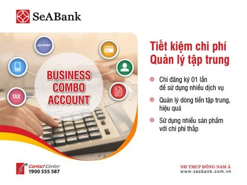 SeABank triển khai gói tài khoản giúp DN tiết kiệm tới 55% chi phí dịch vụ