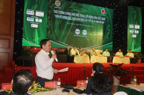 Phó Thống đốc Đào Minh Tú: Ngân hàng luôn đồng hành cùng người nông dân