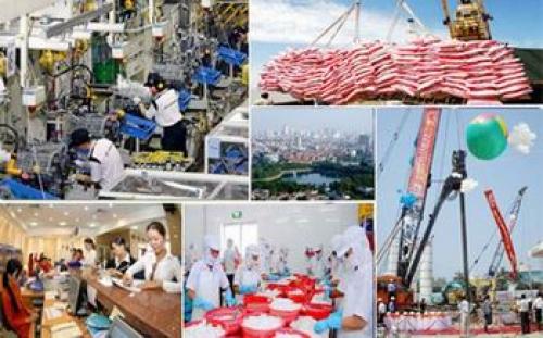 Chính phủ thống nhất mục tiêu tăng trưởng kinh tế năm 2018 tối thiểu 6,7%