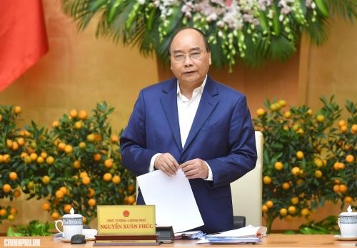 Thủ tướng chủ trì họp Chính phủ thường kỳ tháng 3/2019